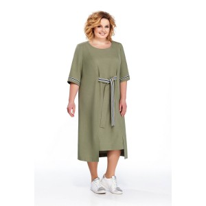 PRETTY 864 Платье (хаки)