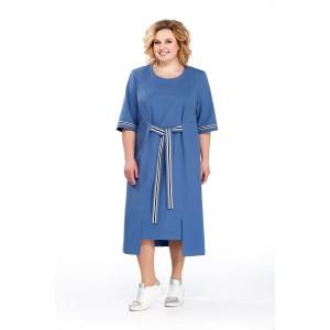 PRETTY 864 Платье (синий)