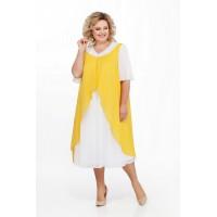 PRETTY 888 Платье (желтый)