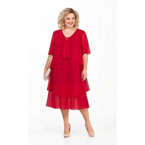 PRETTY 889 Платье (красный)