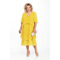 PRETTY 889 Платье (желтый)