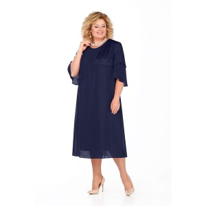 PRETTY 924 Платье (темно-синий)