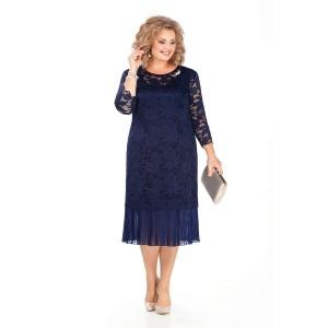 PRETTY 956 Платье (темно-синий)