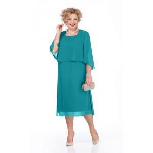 PRETTY 976 Платье (бирюза)