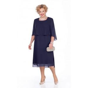 PRETTY 976 Платье (темно-синий)