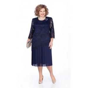PRETTY 987 Платье (темно-синий)