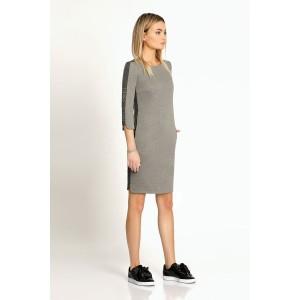 PRIO 168980 Платье (светло-серый)