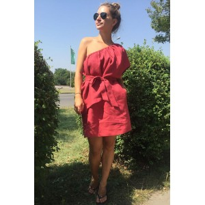 R.O.S.E. 0760 Платье (марсала)