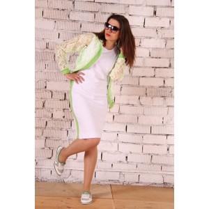 RUNELLA 1254 Платье с бомбером