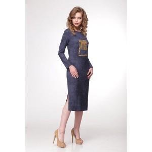 SANDYNA 13326 Платье джинс