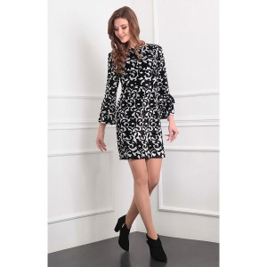 SANDYNA 13362 Платье черный
