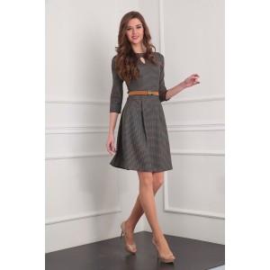 SANDYNA 13379 Платье (коричневый)