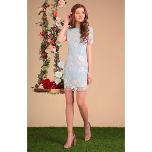 SANDYNA 13414 Платье (голубые тона)