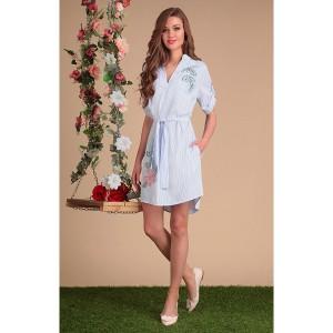SANDYNA 13422 Платье (голубые тона)