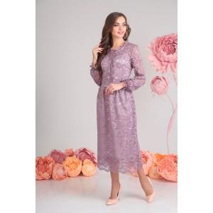 SANDYNA 13503-7 Платье (пастельно-фиолетовый)