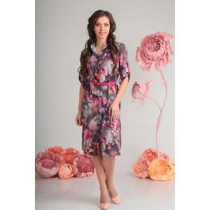 SANDYNA 13577 Платье (фиолетовый)