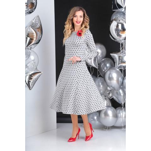 SANDYNA 13612 Платье (серый)