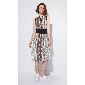 SODA 0165 Платье (принт)