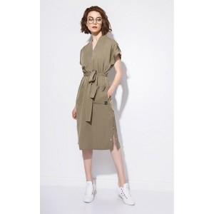 SODA 0166 Платье (хаки)