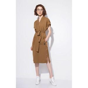 SODA 0166 Платье (табак)