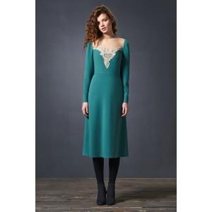 SODA 0184 Платье (изумруд)