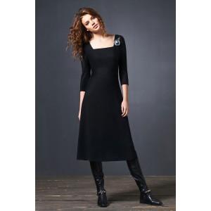 SODA 0185 Платье (черный)