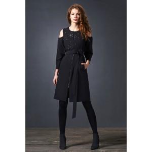 SODA 0190 Платье (черный)