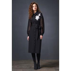 SODA 0192 Платье (черный)