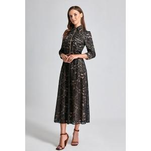 SODA 0214 Платье (черный)