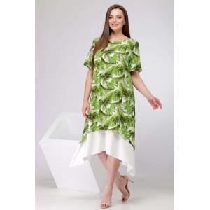 """SOVA 11006 Платье (дизайн """"листья"""")"""