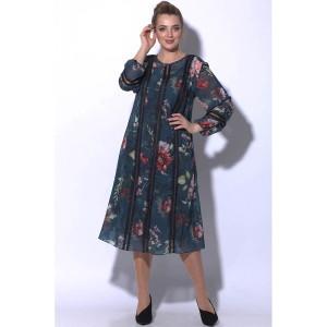 SOVA 11014/1 Платье (зеленый)