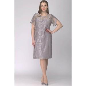 SOVA 11015 Платье (серый)