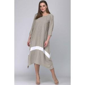 SOVA 11030 Платье (бежевый)