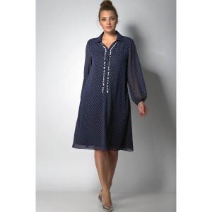 SOVA 11048 Платье (синий)