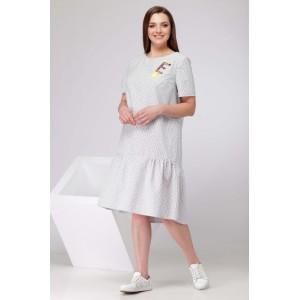 SOVA 12002 Платье (цвет белый диз. полоска)