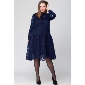 SOVA 12006 (темно-синий) Платье