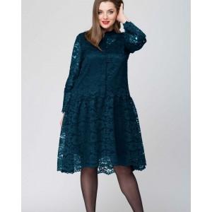 SOVA 12006 (темная бирюза) Платье