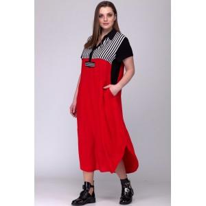 SOVA 13033 Платье (цвет красный)