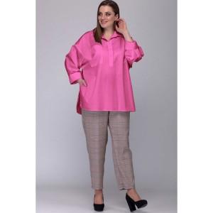 SOVA 13034 Блузка (ягодно-розовый)