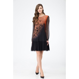 Svetlana-Style 1054 Платье (оранжевый)