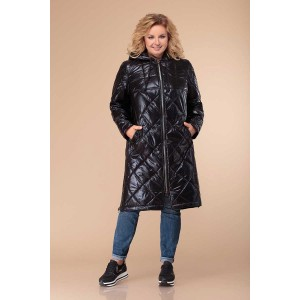 Svetlana-Style 1307 Пальто (черный)