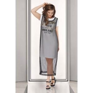 TAIER 690 Платье с туникой