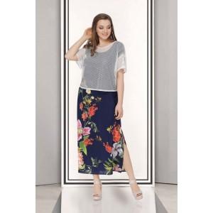TAIER 691 Платье с туникой