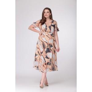TAIER 704 Платье (карамель)