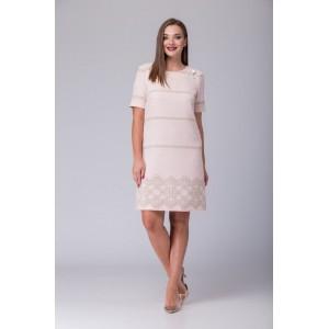 TAIER 770 Платье (Розовая пудра)