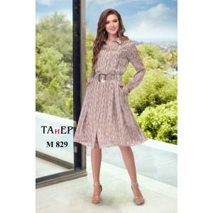 TAIER 829 Платье (беж)