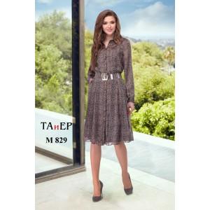 TAIER 829 Платье (шоколад)