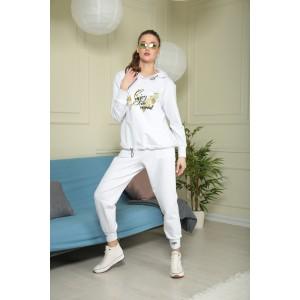 TAIER 945 Спортивный костюм (сливочный крем)