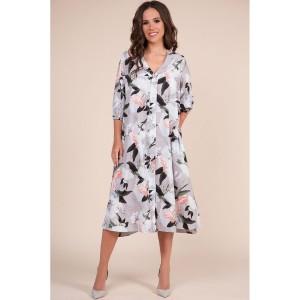 TEFFI 1338 Платье (агатовый серый)