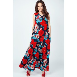 TEFFI 1390 Платье (красный)